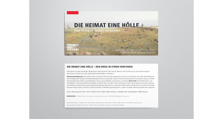 FES Broschüre / Flyer