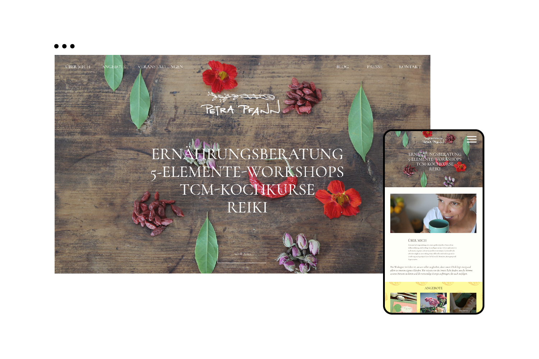 Petra Pfann Website