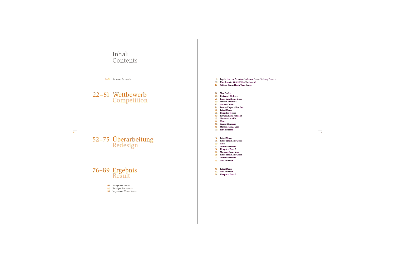 Von Preußen nach Europa / Broschüre Innenseiten
