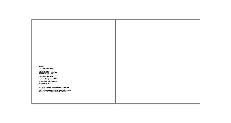 FES Broschüre / Impressum und U3
