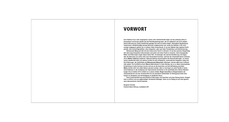 FES Broschüre / U2 und Vorwort