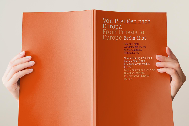 Von Preußen nach Europa / Broschüre Umschlag