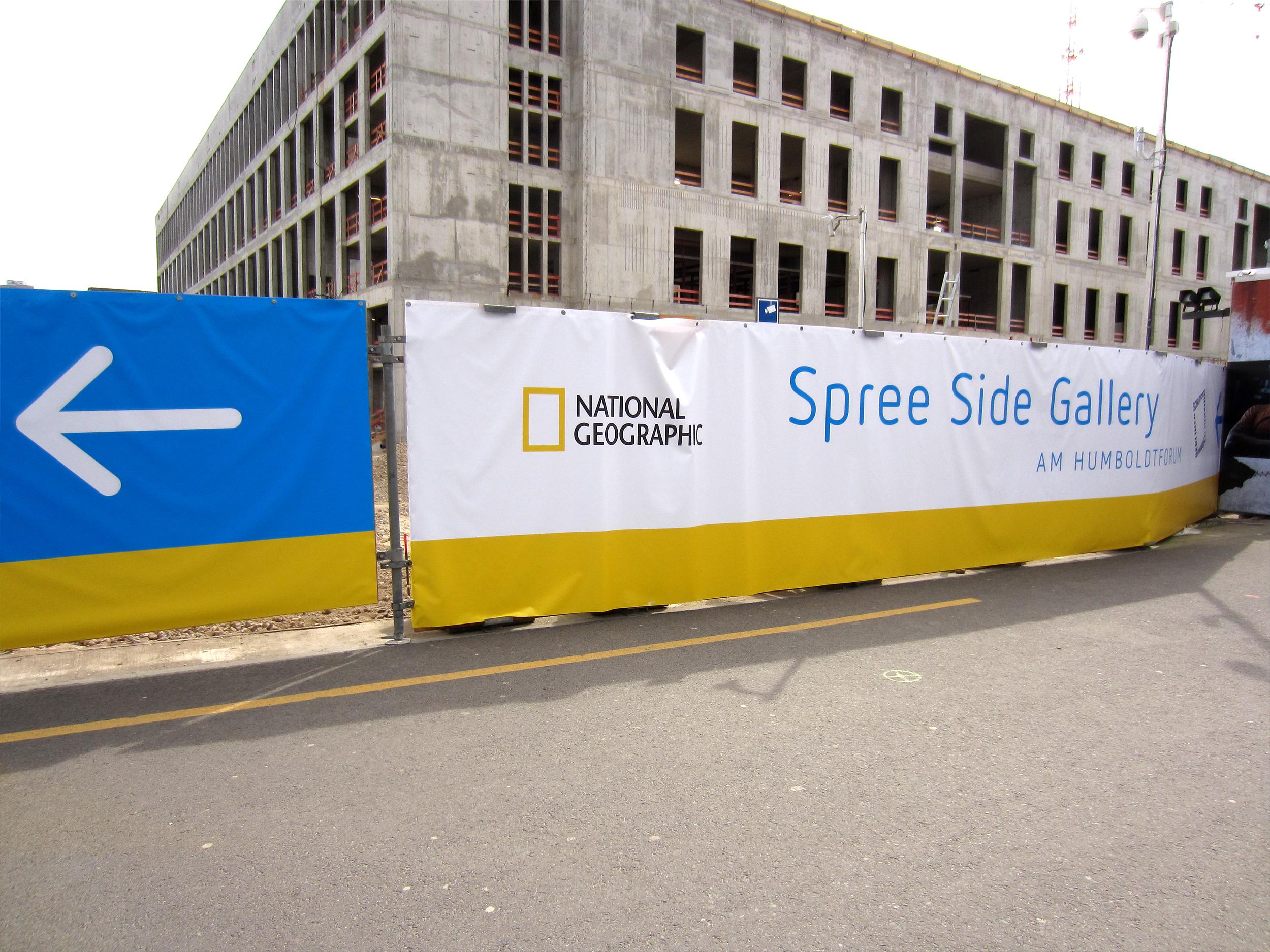 Spreeside Gallery Leitsystem