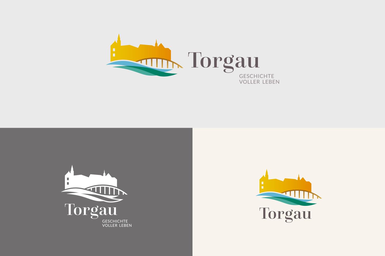 Torgau Styleguide / Logovarianten