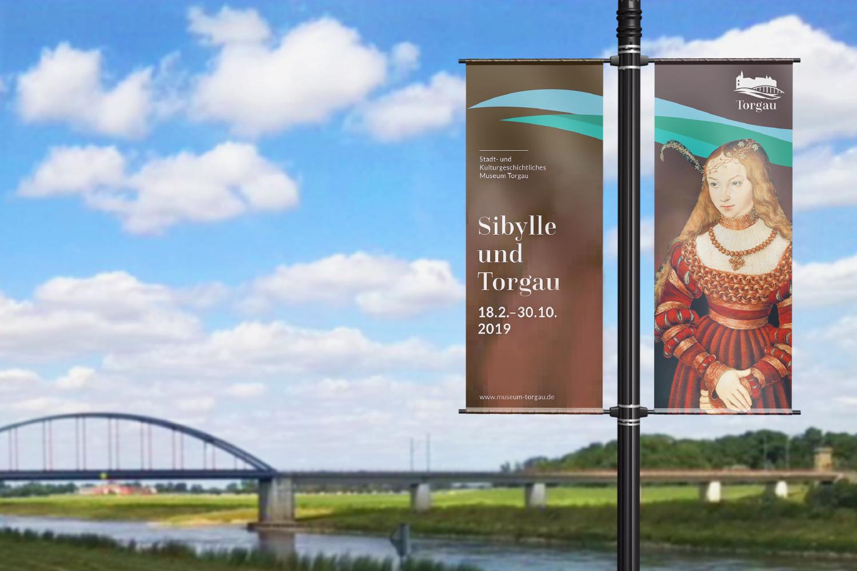 Torgau Styleguide / Ausstellungsbanner