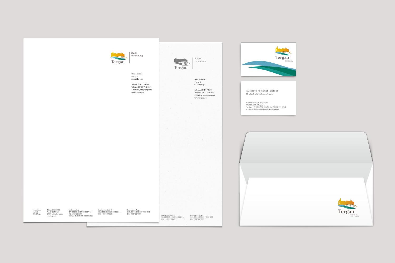 Torgau Styleguide / Geschäftsausstattung
