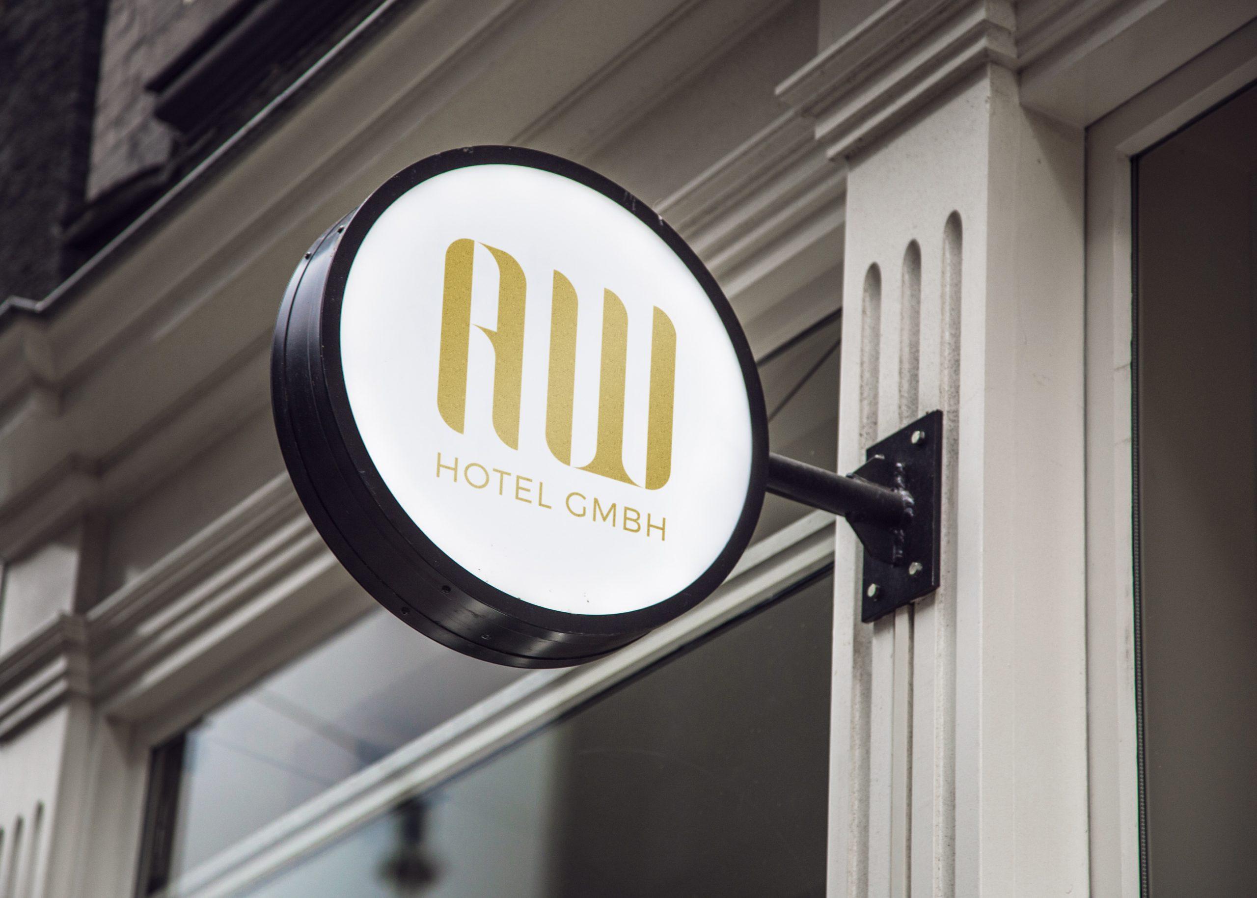 AW Hotel / Logo