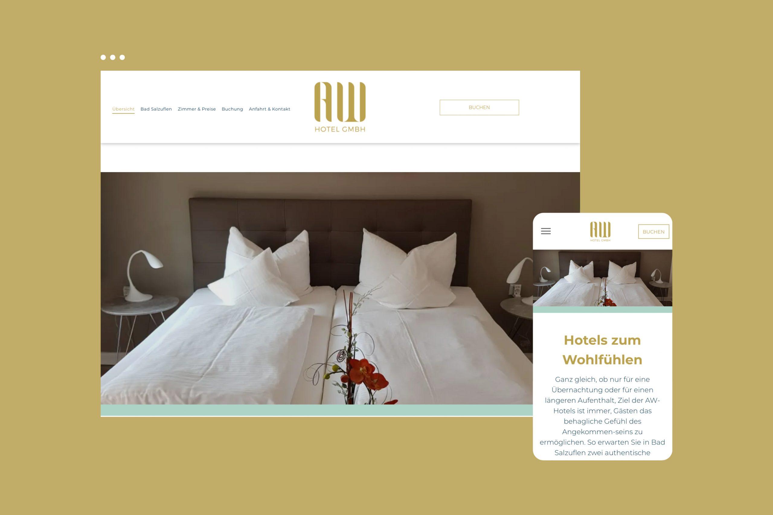 AW Hotel / Website